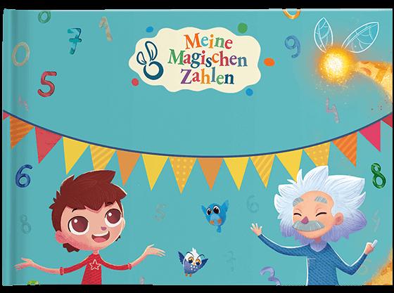Personalisiertes Kinderbuch Meine Magischen Zahlen