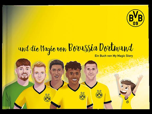 Personalisiertes Kinderbuch: Die Magie von Borussia Dortmund
